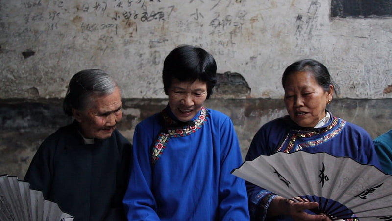 Nushu was a language used exclusively by women of Hunam province