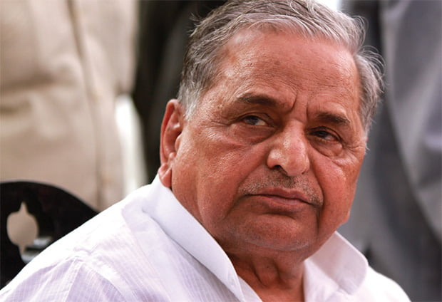 Mulayam Singh Yadav, chief of Samajwadi Party.