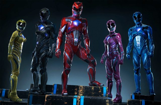 The new ranger suits do look pretty badass!