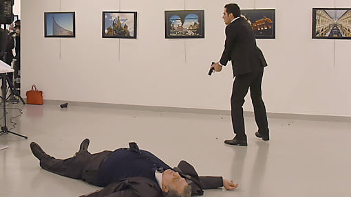 Russian ambassador killed