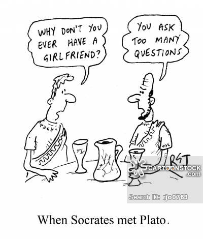 When Socrates met Plato