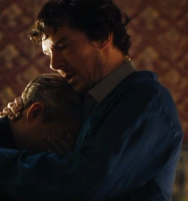 Sherlock and John Bromance