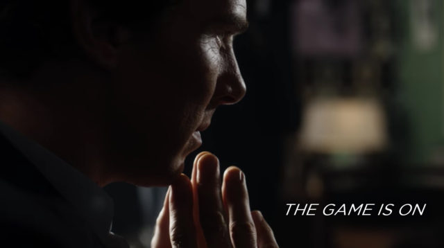 the game is on sherlock