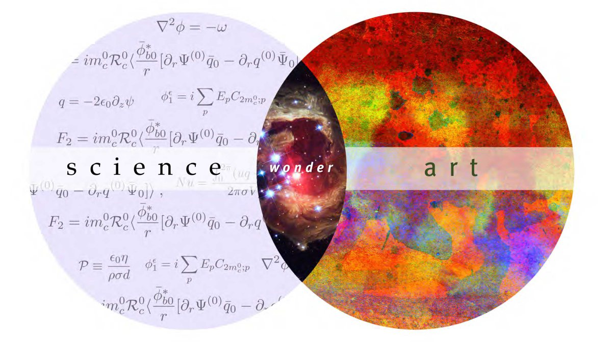 Arts and science collide.