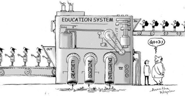 Education system is limiting.