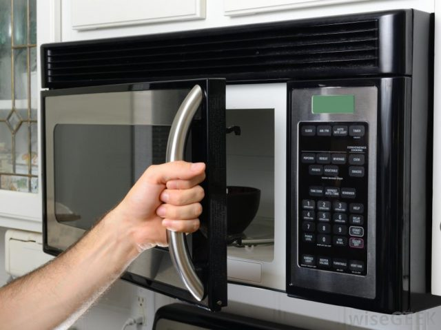microwave controls