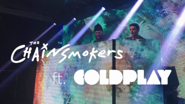 Coldplay Chainsmokers 2