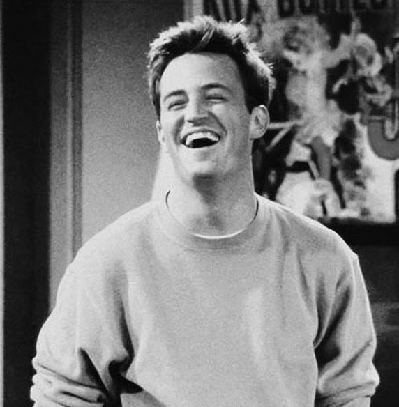 Mr. Chandler Bing, the mother-father-everything of sarcasm!