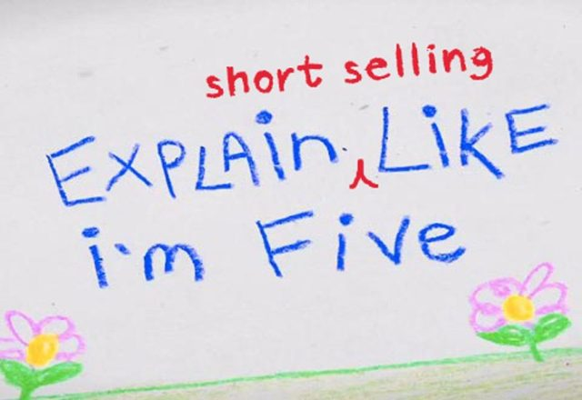 Short selling 101 - the idea of short selling
