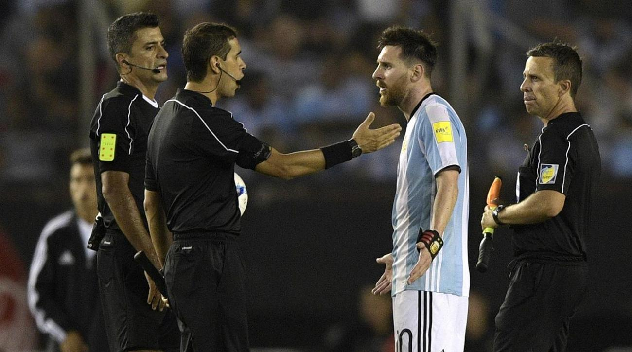 International break Messi banned