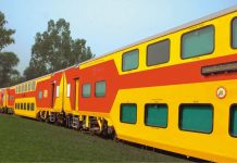 Double-Decker AC Train