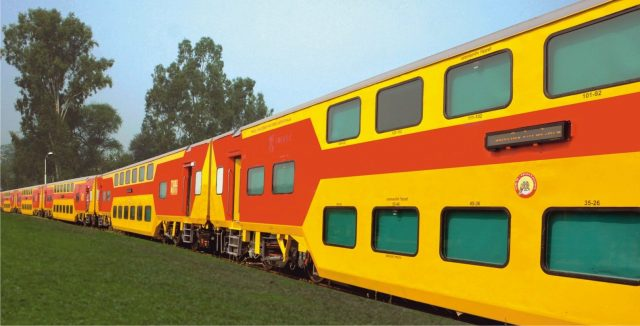 Double Decker AC Train