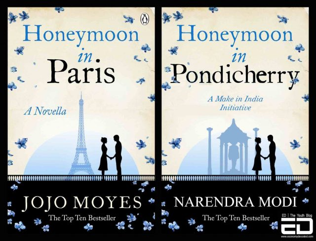 Honeymoon in Pondicherry - Honeymoon in Paris by Jojo Moyes
