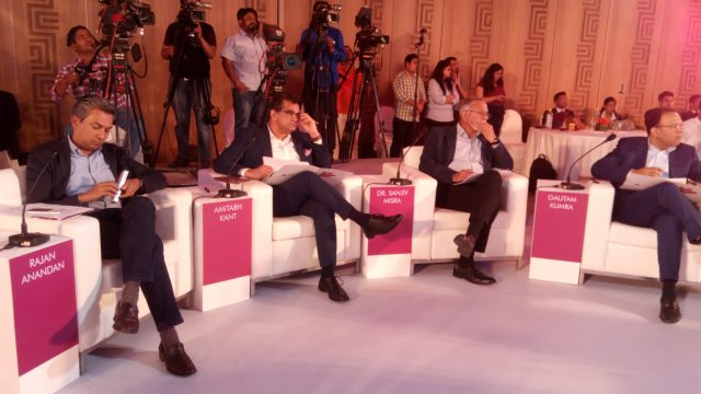 "The jury for the ""Future Of Jobs In India"" event"