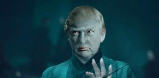 Trump Super Villain Voldemort