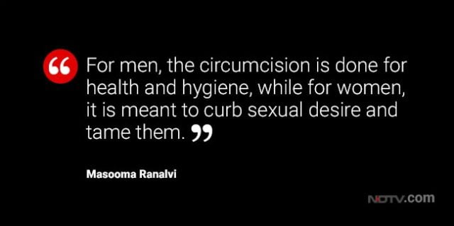 Female Genital Mutilation, Bohra Muslims