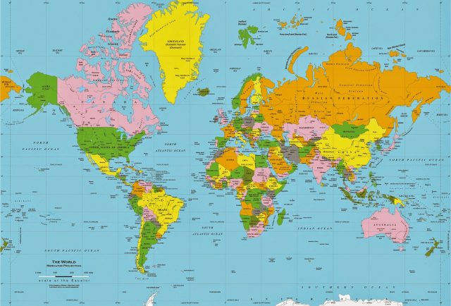 The Map You See Of The World Is WRONG Here Is The Correct Map For You