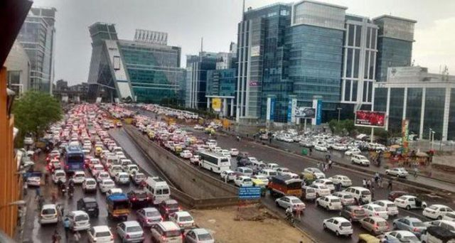 delhi traffic problem