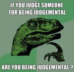 judgemental