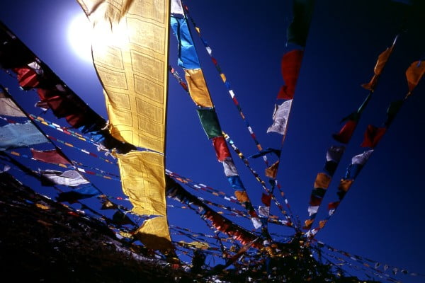 Prayer flags appropriation