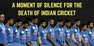Death Of Cricket