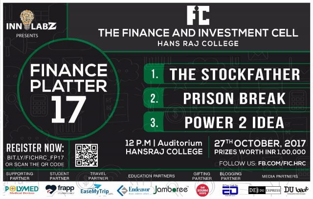 The Finance and Investment Cell hansraj college