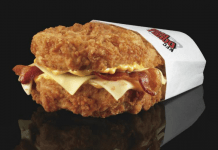KFC's All Chicken Burger