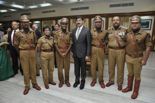 K_Vijay_Kumar_IPS_with_SVPNPA_Staff