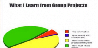 group projects suck You get students into small groups, and they work together on meaningful  projects, and the like guess what: that's true of the good online.
