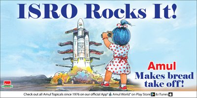 Amul - ISRO Rocks It!