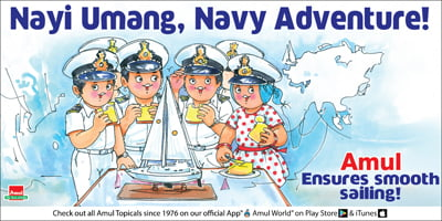 Amul - Nayi Umang, Navy Adventure!