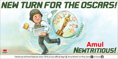 Amul - New turn for the Oscars!