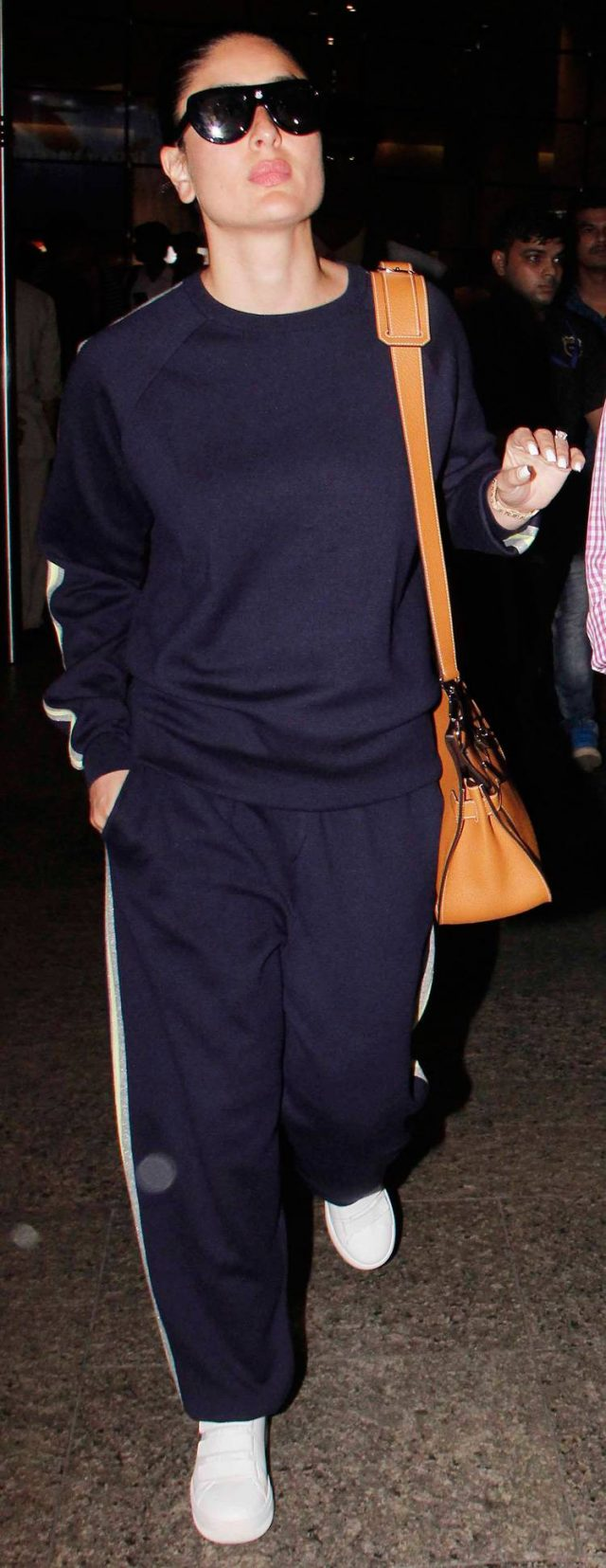 the track suit