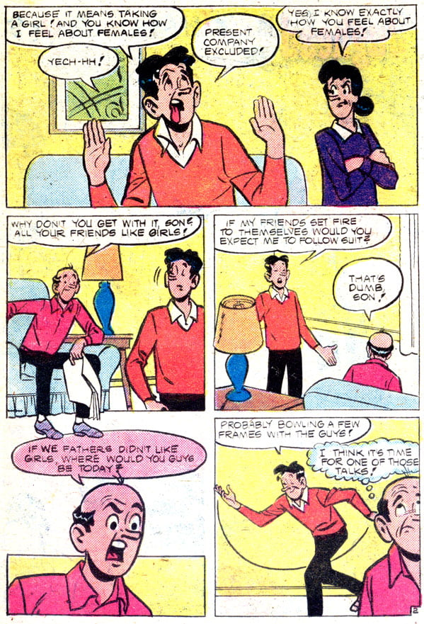 archie comic strips