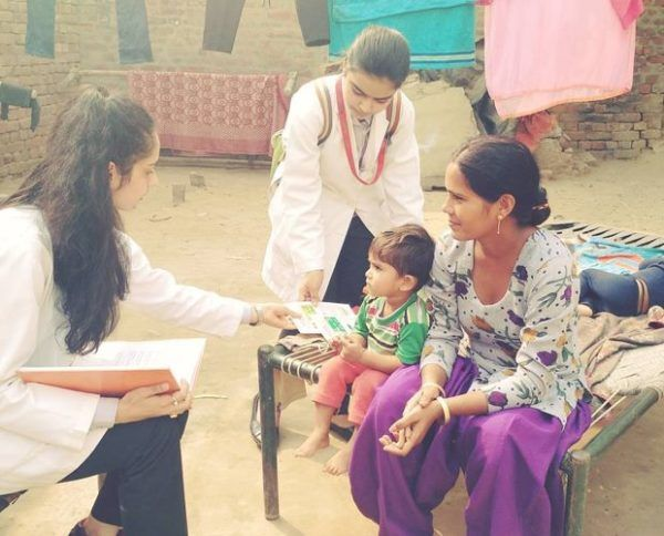 Manushi Chhillar taking initiative to bring about a change in the lives of the village folk