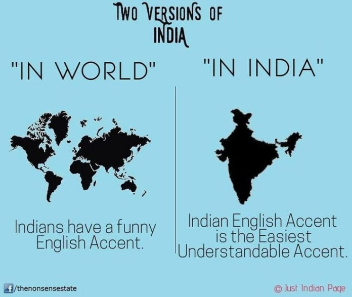 india and english