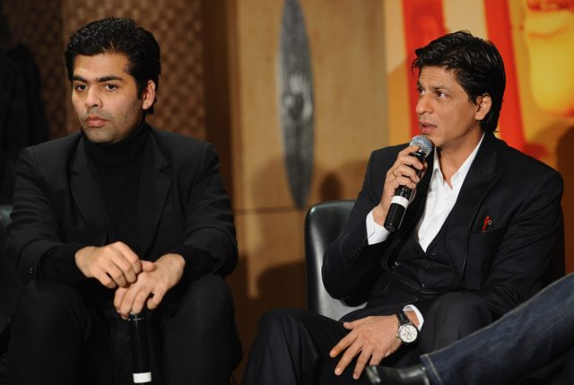 Karan johar and srk