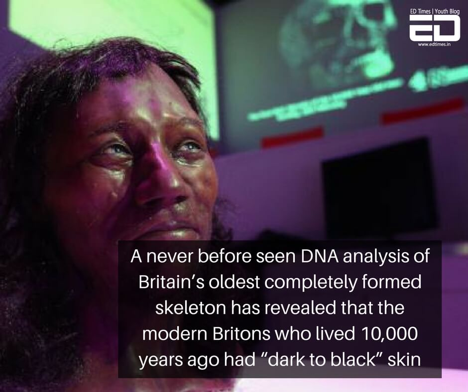 Britain's 'Cheddar Man' Had Dark Skin, Blue Eyes- Scientists Find