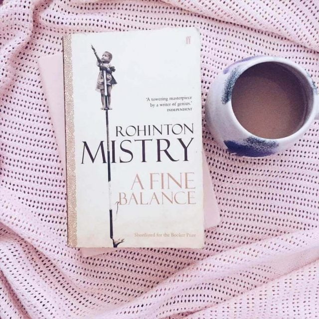 rohinton mistry a fine balance essay A fine balance studio yoga | pilates | barre in the end it's all a question of balance rohinton mistry a fine balance studio is a beautiful new boutique oasis in the heart of upminster.