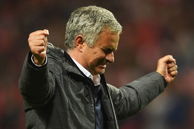 Mourinho accuses Manchester United of being scared to play