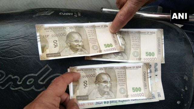 Uttar Pradesh ATM dispenses Fake Rs 500 Notes