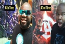 Guy Watched Avengers Infinity War 48 Times