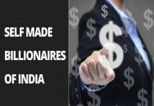 self made billionaires of India