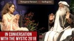 Kangana Ranaut and Sadhguru's views on liberalism and cow-lynching