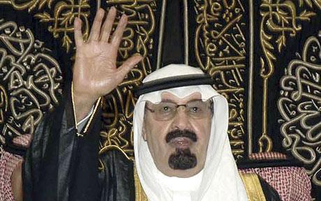 King Abdullah source - arabia2day(dot)com