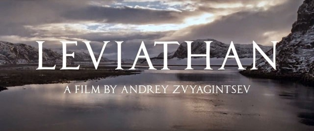 Leviathan (2014)  CD Cover Poster