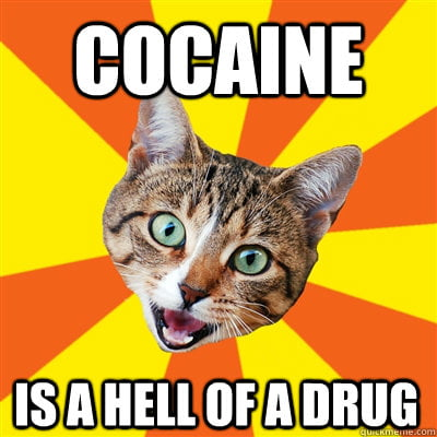 COCAINE-IS-A-HELL-OF-A-DRUG