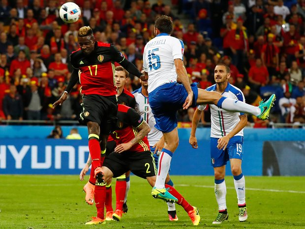 Origi heads wide for Belgium as they fail to capitalize on chances