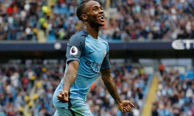 Raheem Sterling was the star man for Manchester City.