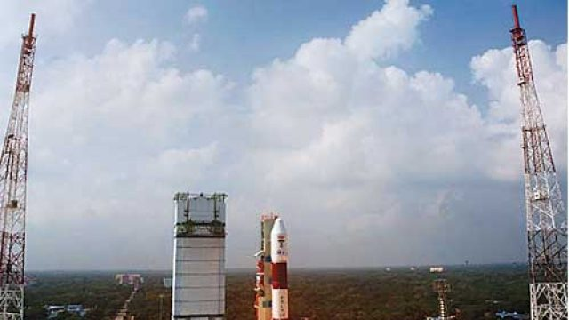 The PSLV-XL used by ISRO